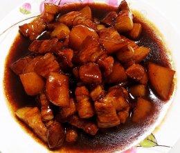 百吃不腻的红烧肉炖土豆的做法