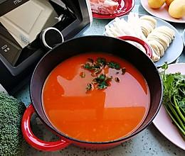 轻松搞定番茄汤底,实现火锅自由的做法