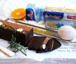 巧克力冻派Terrine Chocolat