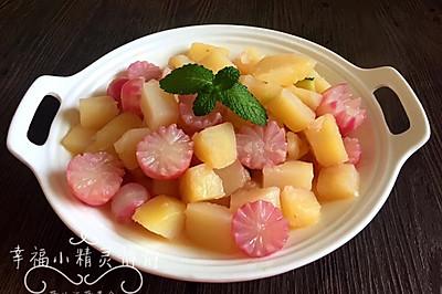 土豆炖萝卜#黑人牙膏一招制胜#