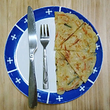 #我要上首焦#简易早餐米饭煎饼