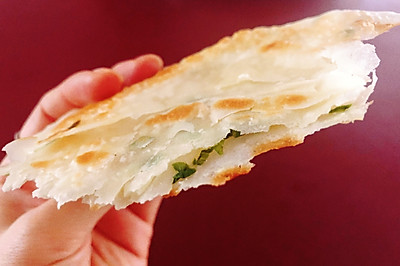 烫面葱油饼