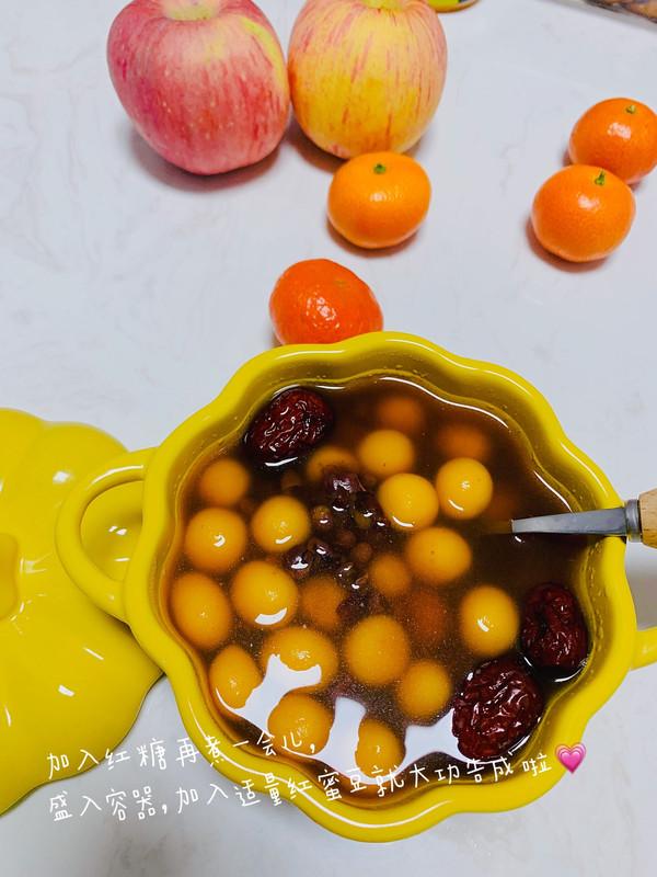 糯米红糖小圆子的做法