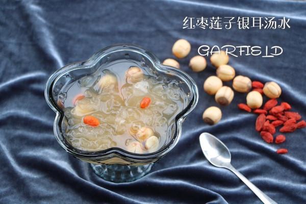 红枣莲子银耳糖水的做法