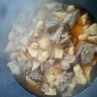 冬笋烧牛肉的做法图解4