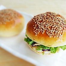 家庭版美味汉堡包