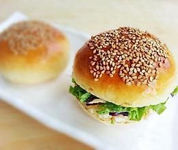 家庭版美味汉堡包的做法