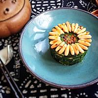 松仁菠菜的做法图解4