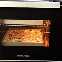 【培根佛卡夏】—COUSS CO-960A热风炉烤箱出品的做法图解11