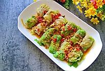 香辣白菜肉卷的做法