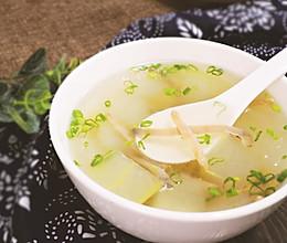 沙虫冬瓜汤的做法