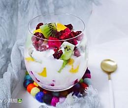 快手能量杯/水果酸奶#让爱不负好时光#的做法
