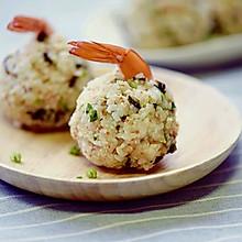 剩米饭华丽变身——鲜虾饭团