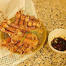 #硬核菜谱制作人#秘料清蒸皮皮虾