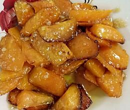 拔丝红薯的做法