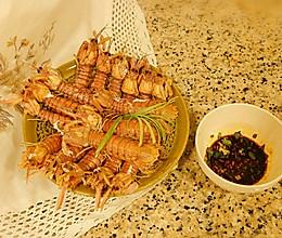 #硬核菜谱制作人#秘料清蒸皮皮虾的做法