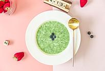 辅食日志 | 小白菜鳕鱼山药十倍粥的做法