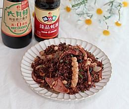 #中秋宴,名厨味# 鱿鱼炒饭,简单快手,鲜香又味美的做法