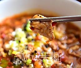水煮肉片--年夜饭来碗红红火火的做法