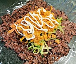 血糯米饭团的做法