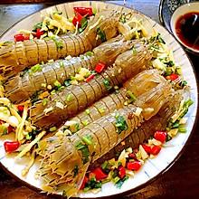 鲜腌生渍皮皮虾