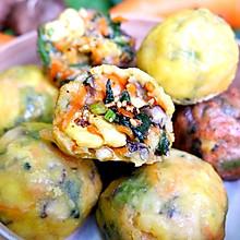 早餐快手菜团子,蒸一蒸10分钟出#橄榄中国味 感恩添美味#