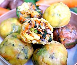 早餐快手菜团子,蒸一蒸10分钟出#橄榄中国味 感恩添美味#的做法