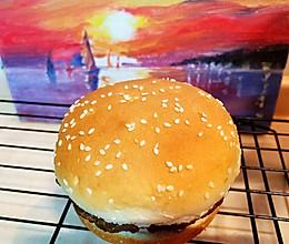 #牛气冲天# 牛肉苹果汉堡的做法