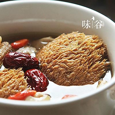猴头菇炖鸡汤(秋冬养生)