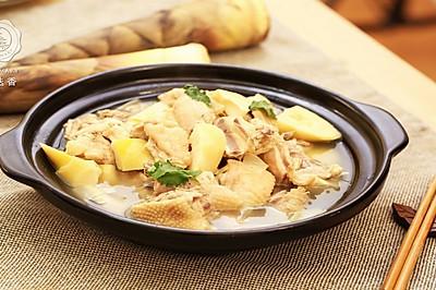迷迭香:春笋煲鸡汤