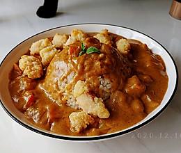 奶油咖喱杂蔬饭的做法