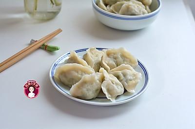 猪肉鸡蛋芹菜饺子