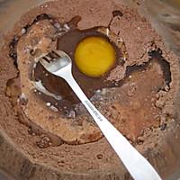 微波炉巧克力纸杯蛋糕的做法图解2