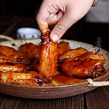 吮指梅酱鸡翅
