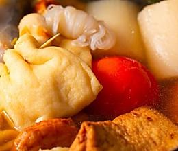 【关东煮】萝卜豆腐这样吃,清爽健康又洋气!的做法