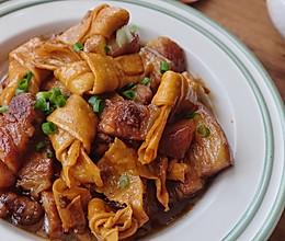豆结烧肉的做法