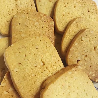 椰香花生饼干