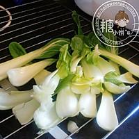 小清新【蚝油香菇油菜】的做法图解3