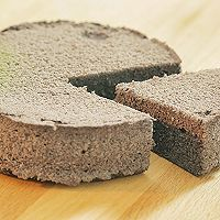 黑米蒸蛋糕的做法图解13