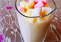 彩色棉花糖奶茶的做法