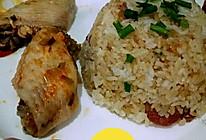 懒人一锅焖:腊味焖锅饭的做法