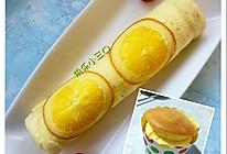 橙味蛋糕卷和开口笑蛋糕的做法