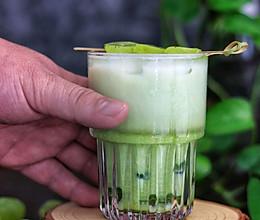 冰提子低脂抹茶拿铁的做法