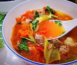 牛肉柿子汤(罗宋汤)的做法
