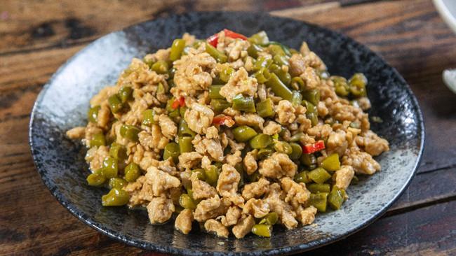 烂肉豇豆(酸豆角炒肉末)的做法