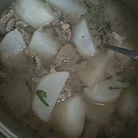 牛杂萝卜汤的做法图解1