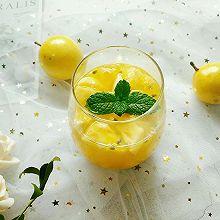 爱心特饮~菠萝百香果饮#父亲节,给老爸做道菜#