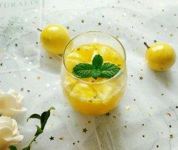 爱心特饮~菠萝百香果饮#父亲节,给老爸做道菜#的做法