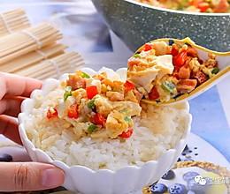 蛋焖豆腐 宝宝辅食食谱的做法
