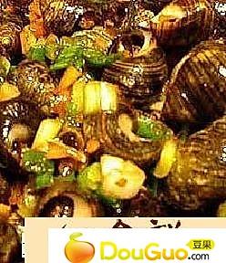 白拌黄螺的做法